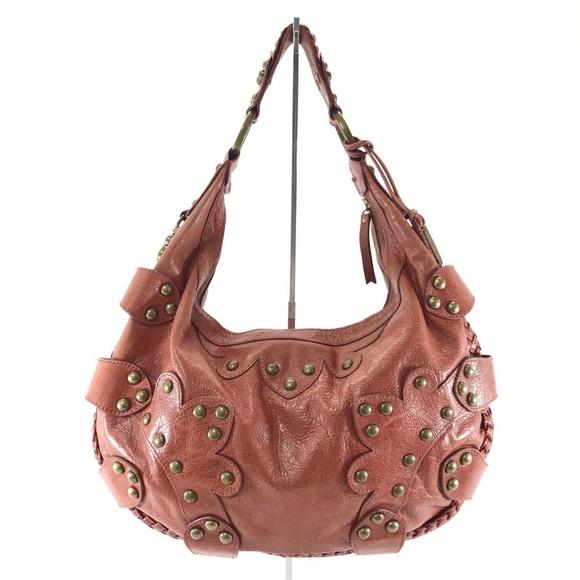 af71f14b45 Isabella Fiore Handbags - ISABELLA FIORE Oasis Drew Leather Hobo Handbag
